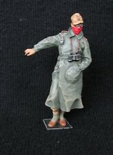 1/35 WWII German DAK Motorcyclist Figure Built & Painted (Mig Production)