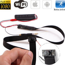 Mini 1080P WIFI HD SPY DVR Hidden Camera 60CM Cable DIY Module Videorecorder Cam