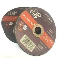 """(PACK OF 20) Parweld (4"""") 100mm x 1mm Thin stainless steel metal cutting discs"""