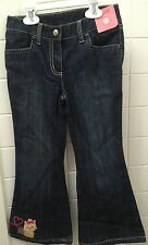 Gymboree Girls Size 5 Denim Puppy Jeans Adjustable Waist New BNWT Casual Dog