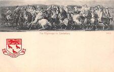 PILGRIMAGE TO CANTERBURY KENT UK~EMBOSSED LOGO~STENGEL & CO PUBL POSTCARD 1910s