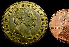 R464: 1837 famiglia reale britannica MEDAGLIA: la MORTE GUGLIELMO IV che porta a Victoria