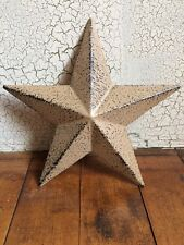 "ONE (1) RUSTIC BLACK BARN STAR 5.5"" PRIMITIVE COUNTRY DECOR ANTIQUE"