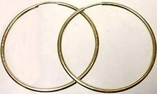High Quality USA 14ktGF 32mm Endless Hoops Ancient Celts Vikings Norse English