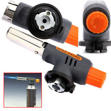 Gas Torch Butane Burner Auto Ignition Camping Welding Flamethrower BBQ Tools