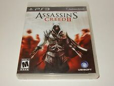 Assassin's Creed II (Sony PlayStation 3, 2009)   **COMPLETE**
