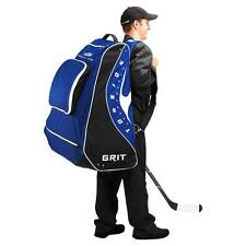 "New Grit hockey pod equipment bag 30"" junior blue Toronto back pack stand jr ice"