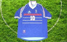 Zidane France vs Brazil 1998 world cup Final jersey shirt camiseta maillot