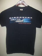 NASA Space Shuttle Discovery Kennedy Center FL USA World Tour 2010 T Shirt Small