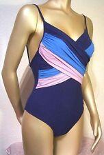 Triumph Badeanzug Swimwear Sun Poem OW mit Bügel 38B 38 B blau Badewäsche