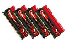 16GB G.Skill DDR3 PC3-19200 2400MHz TridentX Series CL10 Quad Channel kit