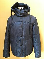 Dolce&Gabbana Men's Warm Winter Jacket Black with Grey Front Size 52 M / L