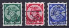 DR Mi Nr. 479 - 481, gest. Wuppertal etc., Reichstag Potsdam Dt. Reich 1933