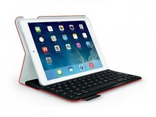 Ultrathin Keyboard Folio for iPad Air Mars Red Orange (FRA Layout - AZERTY) Blue