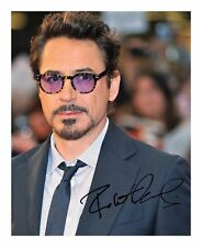 ROBERT DOWNEY JR SIGNED AUTOGRAPHED A4 PP PHOTO POSTER