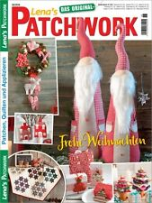 Lena`s Patchwork # 58/2016 FROHE WEIHNACHTEN - Advent - Winter