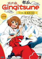 Gingitsune (TV 1 - 12 End) DVD + EXTRA DVD