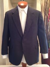 H Freeman & Son Custom Tailored Mens Suit 2 Btn Gray Sz 38 40 R S MINT!