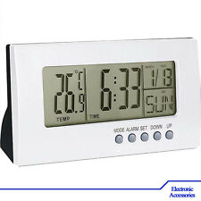 Clock Digital LCD Multifunctional Temperature Meter Indoor - Weather Station