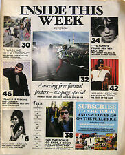 INSIDE THIS WEEK 2012 Rolling Stones Amy Winehouse Blur Nas Kate Nash Manors