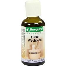 SAUNA AUFGUSS Konzentrat Birke Wacholder 50 ml