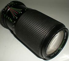 CAMERA PHOTOGRAPHY LENS MAGNICON AUTO ZOOM F=80-200MM MACRO 1:4.5