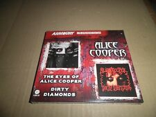 Alice Cooper-The Eyes of Alice Cooper/Dirty Diamonds  CD new / sealed