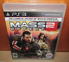BRAND NEW SEALED Mass Effect 2 PS3 PlayStation 3 EA Two