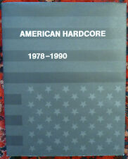 American Hardcore 1978-1990 book including Black Flag interview 7""
