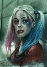 """015 Suicide Squad - 2016 Film Task Force X Movie 14""""x20"""" Poster"""