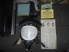 NEVER OPENED VINTAGE SCOTT GAS MASK WITH CHEST FILTER-BM 1418A MASK-MODEL PVAG-L