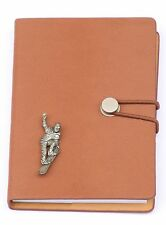 Snowboarder Design Notebook A6 Leather Effect Winter Sports Snowboarder Gift