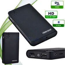 New 3000mah SPY Hidden CAMERA POWER BANK 1080P 720P HD detection SOUND