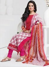 Elegant Cotton Designer Printed Unstitched Dress Material Salwar Suit No AA101