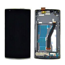 DISPLAY VETRINO TOUCHSCREEN LCD FRAME ASSEMBLATO PER 1+ ONE PLUS ONE