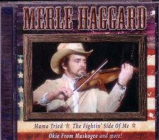 Super Hits Merle Haggard ALL AMERICAN COUNTRY CD MAMA TRIED SWINGING DOORS