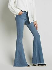 New FREE PEOPLE Super Flare Jeans Size 26