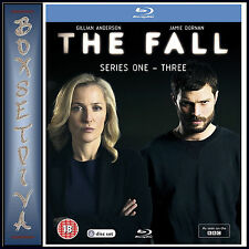 THE FALL - COMPLETE SERIES 1 2 & 3 **BRAND NEW BLURAY**