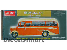 SUNSTAR 1:24 1947 BEDFORD OB DUPLE VISTA COACH FDK 571 YELLOWAY NEW DIECAST BUS