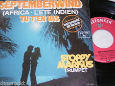 "7"" - Stoppy Markus / Septemberwind & Tu T´en vas - 1975 # 2629"