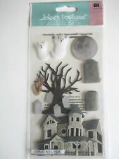 JOLEE'S BOUTIQUE STICKERS- HAUNTED HOUSE halloween LGE