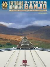 Fretboard Roadmaps - 5-String Banjo : The Essential Patterns That All the...