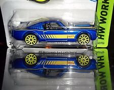 HOT WHEELS 2015  '65 MUSTANG 2+2 FASTBACK
