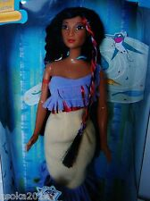 Barbie Disney Mattel collector doll pocahontas fairy tale A. indiens konvult NEUF