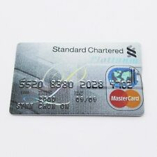 Standard Chartered Platinum credit card 8GB USB 2.0 flash drive memory stick