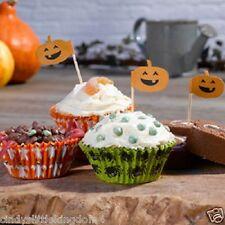 Nuevo Feliz Halloween Trick Or Treat Pack De 100 Cupcake casos & 10 espeluznante Selecciones