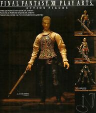 ACTION FIGURES - Final Fantasy XII Play Arts - No. 3 Balthier - NUOVO