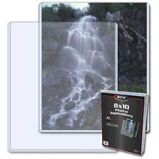 1 Pack of 25 BCW 8 x 10 Photo Storage Topload Holders Protection