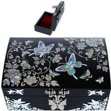 Korea Antique Jewelry Box Mother of Pearl Jewelry Box Gift Jewelry Box HJL1001