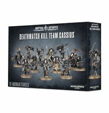 Warhammer 40k Space Marines Deathwatch Kill Team Cassius NIB